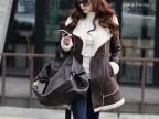 秋冬季韩版   棉衣女式短款麂皮绒外套大衣羊羔毛保暖加厚   外套