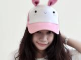 哐花村原创鸭舌帽 夏季创意网帽批发 可调节儿童遮阳帽棒球帽