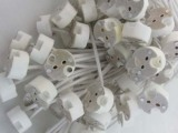 LED灯具配件套件卤素灯泡插脚 GU5.3陶瓷灯头 MR16射灯