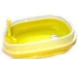 贝佳BeiJia宠物用品 超大号经济型猫砂盆含防溅盖猫厕所
