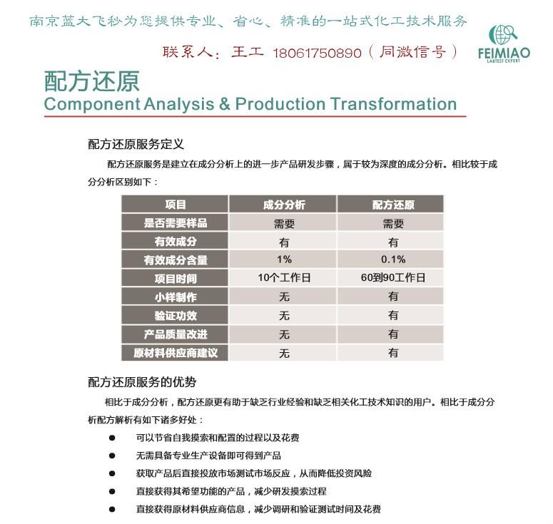 玻璃静电油墨 丙烯酸油墨 避光油墨成分化验配方分析产品开发
