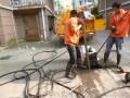 盐城盐都区排水箱涵清淤 管道封堵 管道潜望镜检测