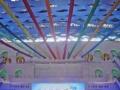 北京飞在空中的七彩布租赁飞天彩虹租赁七彩飞布租赁