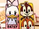 迪士尼情侣米老鼠涂鸦硅胶套 4.7iPhone6手机壳 苹果6保