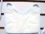 纯棉宝宝口水巾 系带口罩式肩挂式口水兜兜