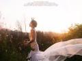 婚纱照北京轻旅拍引领时尚潮流透明元素