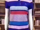 国内一二线品牌运动服装库存尾货 匹克男女短T降价促销