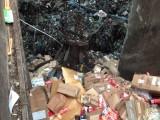 海关下架食品(不合格)现场焚烧,保税区区域食品葡萄酒销毁价格