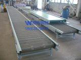网带输送线 食品冷却降温转弯网带输送机 宁津网带输送机厂家