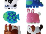 厂家直销儿童宝宝幼儿园动物造型立体枕头套 枕套成人腰垫抱枕套