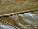 油蜡皮厂家直销 黄棕色油蜡皮 优质珠光牛二层皮