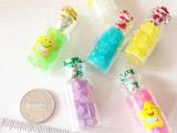 韩国进口批发许愿糖漂流瓶/玻璃瓶/流星瓶糖 彩色星星糖一盒80瓶