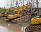 山西大同市湿地挖掘机出租水上清淤挖掘机租赁守信用企业