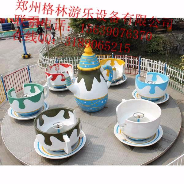 户外旋转系列游乐设备 旋转咖啡杯儿童转转杯智宝乐游乐专业定制