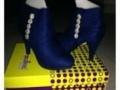 甩货啦!95成新品牌高跟单鞋两双50元,品牌短靴1