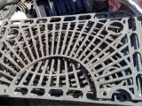 我厂生产供应球墨铸铁树池篦子 铸铁工艺图案井盖