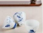 重庆原来网上集青花瓷器小鸟杯