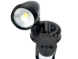 高性能铝材led墙壁灯人体感应节能省电精准控制单头10Wled楼
