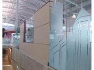 深圳南山专业喷绘玻璃贴膜快速上门服务