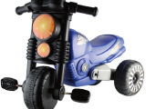 厂家批发 新款儿童脚踏塑料三轮摩托童车 宝宝脚踩婴儿玩具车