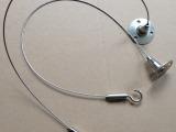 灯饰钢丝绳吊线 面板灯吊线 室内灯具吊线配件 LED灯饰吊线