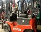 新款8成新二手杭州2吨电瓶叉车 仓库专用电动叉车