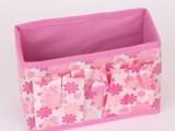 A4女人花化妆盒化妆品收纳盒桌面杂物收纳盒整理