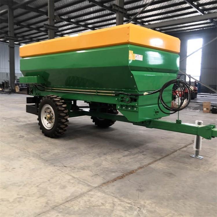 贵州有机肥撒肥车多少钱 汇富干湿两用撒肥车