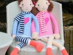 厂家批发供应85cm高富帅白富美情侣毛绒玩具公仔生日礼物布娃娃