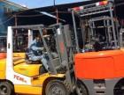 无锡二手运输搬运设备叉车-TCM3吨柴油平衡重叉车转让
