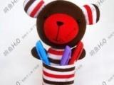 个性玩偶创意学生文化用品/材料包/豆丁熊