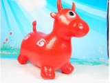 厂家直销出口加大加厚儿童充气跳跳马鹿牛儿童充气玩具