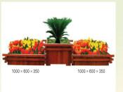 厦门木花箱定做——具有口碑的花箱市场价格情况