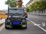中国锐速超跑自驾租赁南京租车奔驰G55自驾巴博斯租赁