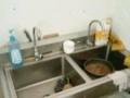 低价处理快餐店洗碗槽