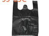 黑色薄款背心袋,垃圾袋,黑5583C,20包/件