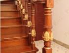 实木楼梯小立柱 楼梯围栏样式 原木整根楼梯立柱工厂定制 上海
