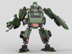 星钻81512 正版积变战士 齿轮机器人 齿轮乐高式积木 拼装玩具