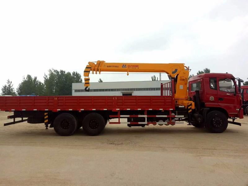 鹤岗厂家直销东风2吨到20吨随车吊随车起重运输车包上户可分期