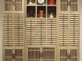 实木储物柜收纳柜简约现代展示柜 普洱茶饼架实