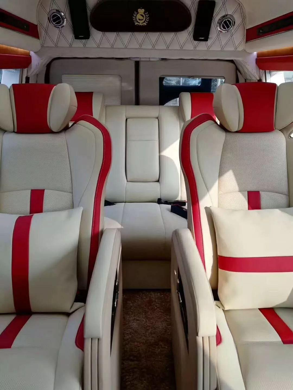 商务两驱GMC蓝牌(航空座椅,幻彩顶灯)
