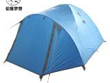 探险者帐篷双人双层 户外野营帐篷防暴雨登山旅游露营