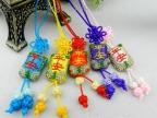 端午节 中国结 小香包手机挂件刺绣平安批发手机链手机挂饰批发