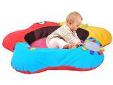 哈喜屋早教益智婴幼儿玩具充气游戏垫多功能气垫熊软沙发婴儿礼物