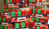 厂家供应圣诞用礼物盒、挂饰、挂件、LED