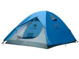 牧高笛 户外玻杆双人双层专业防风防雨野营帐篷 家庭旅游帐篷