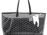 戈雅透明包goyard水晶糖果色沙滩旅行大包包时尚子母单肩包特价