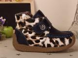 短棉鞋冬季新款韩版大棉婴儿鞋宝宝皮鞋加绒软皮软底男童鞋批发