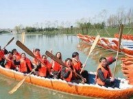 上海梦幻田园趣味拓展 户外娱乐 龙舟比赛