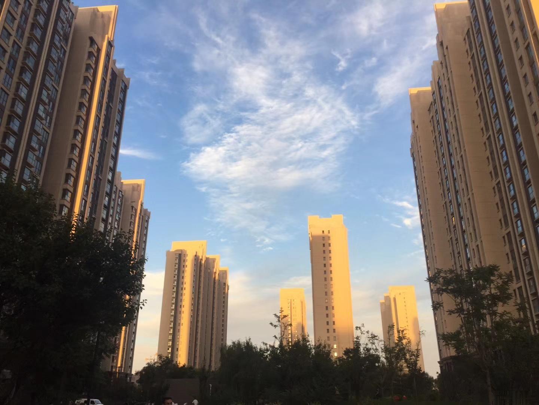 钥匙房 首开国风上观 空中楼中楼 小区中央 龙城公园 三